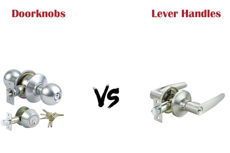 Should you choose a doorknob or a lever handle?